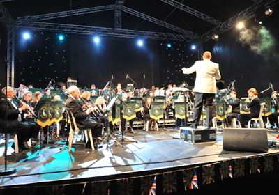 Photo of Aylesbury Concert Band, August 2014
