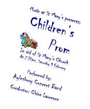 Cover of concert Programme